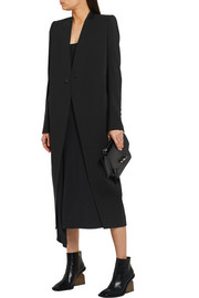 Rick Owens Stretch-wool coat