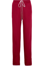 Jersey wide-leg sweatpants