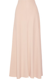 Frol stretch-crepe maxi skirt