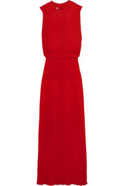 Sonia Rykiel Ribbed-knit maxi dress