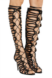 Brian Atwood Jules lace-up leather sandals