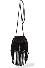 Anita Toy fringed suede shoulder bag
