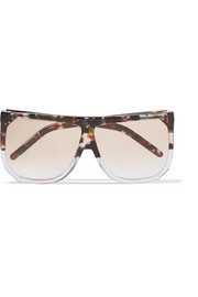 Filipa D-frame acetate sunglasses