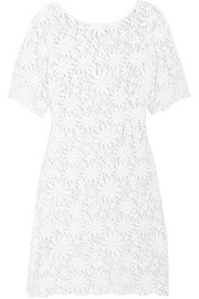 Miguelina Gracelyn crocheted cotton mini dress