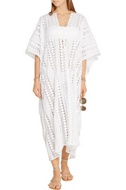 Miguelina Blair crocheted cotton kaftan