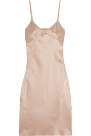 Marques' Almeida Silk-satin dress