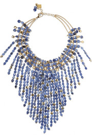 Oriente gold-tone sodalite necklace