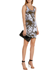Roberto Cavalli Stretch-jacquard mini dress