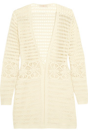Tory Burch Nerano crocheted cotton robe