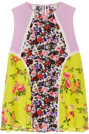 Mary Katrantzou Evina floral-print silk crepe de chine top