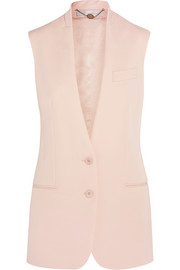 Stella McCartney Ernest wool-crepe vest