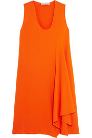 Stella McCartney Nadine asymmetric stretch-crepe dress