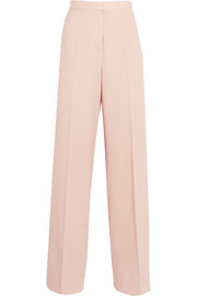 Elsmere wool-gabardine wide-leg pants
