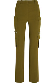 Stretch-crepe skinny pants
