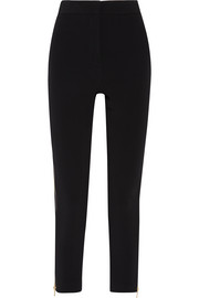 Stretch-cady skinny pants