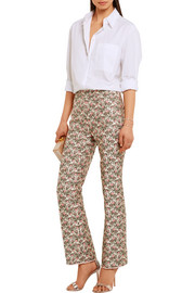 Giambattista Valli Brocade flared pants