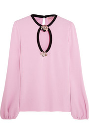 Giambattista Valli Embellished knitted sweater