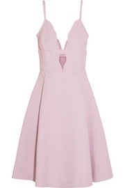 Giambattista Valli Cutout crepe mini dress
