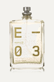 Escentric 03 - Vetiveryl Acetate, Mexican Lime & Ginger, 100ml