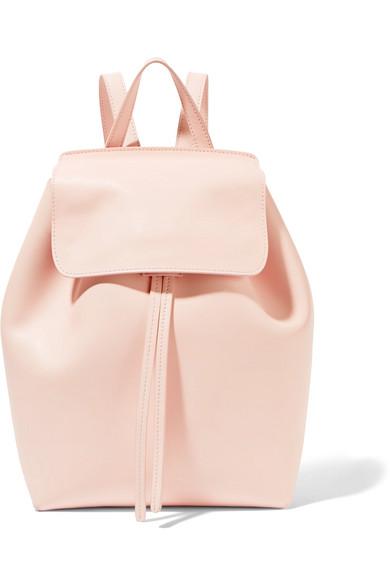mansur gavriel female mansur gavriel mini leather backpack pastel pink