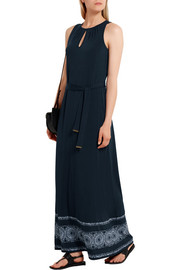 MICHAEL Michael Kors Miura printed stretch-jersey maxi dress