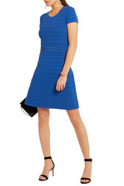 MICHAEL Michael Kors Ribbed stretch-jersey dress