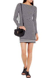 MICHAEL Michael Kors Bermont printed stretch-jersey mini dress