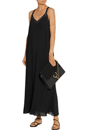 MICHAEL Michael Kors Pleated georgette maxi dress