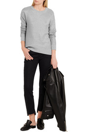 MICHAEL Michael Kors Metallic cotton-blend sweater
