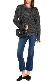 MICHAEL Michael Kors Fringed knitted sweater
