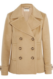 MICHAEL Michael Kors Double-breasted wool-blend peacoat