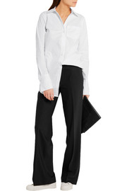 MICHAEL Michael Kors Stretch-cotton poplin shirt