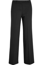 MICHAEL Michael Kors Stretch-wool straight-leg pants