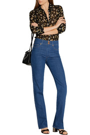 M.i.h Jeans Berlin high-rise straight-leg jeans