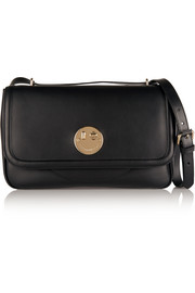 Happy leather shoulder bag