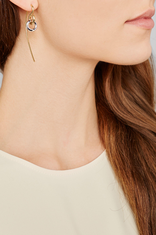 Charlotte Chesnais Swing gold-plated earring