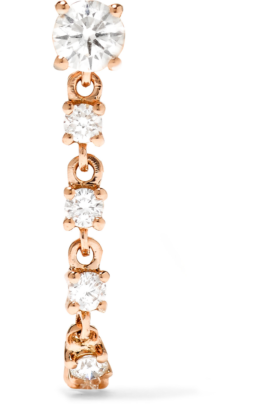 Anita Ko 18-Karat Rose Gold Diamond Earring, Women's