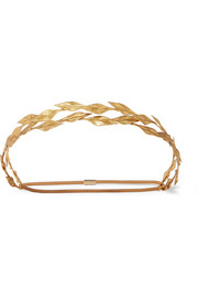 Dana gold-tone headband