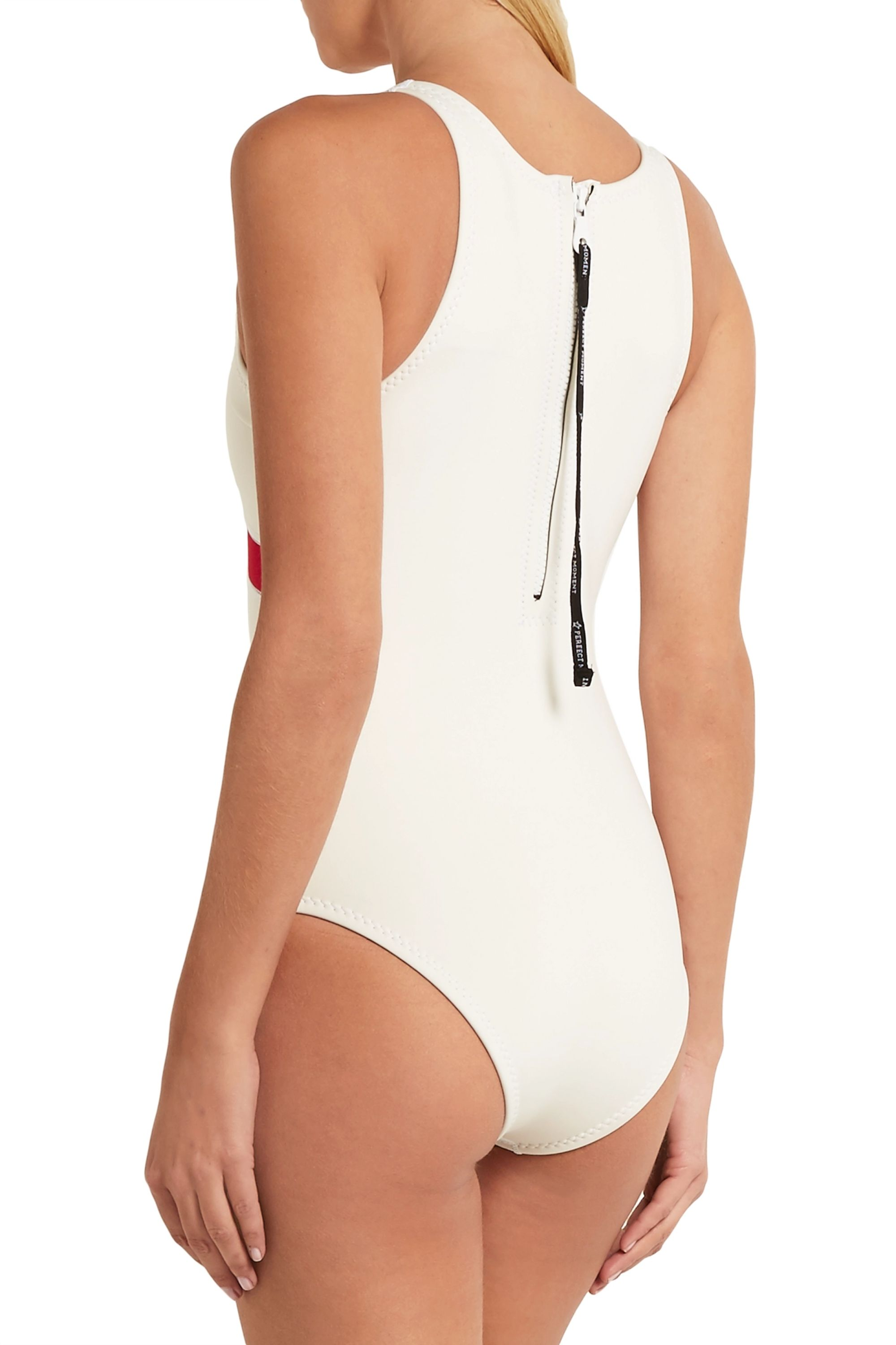 Perfect Moment Nordic neoprene swimsuit