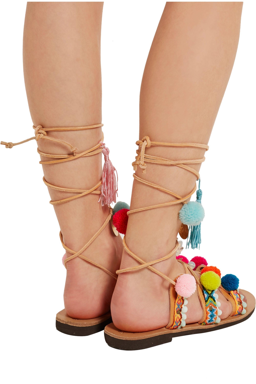 Mabu by Maria BK Embellished leather sandals