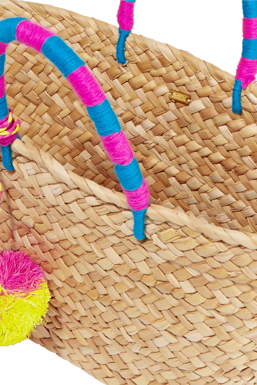 Kayu St Tropez woven seagrass tote
