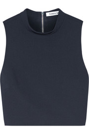 Elizabeth and James Avita cropped stretch-ponte top