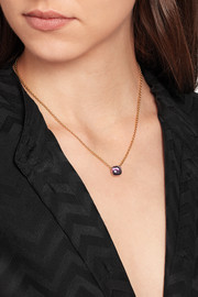 Nudo 18-karat rose gold amethyst necklace