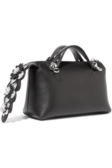 a949aa9f0514 Fendi. By The Way mini appliquéd leather ...