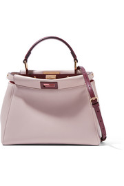 Peekaboo mini leather shoulder bag