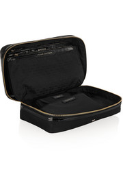 Anya Hindmarch Baby Emergency patent leather-trimmed travel case