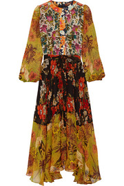 Duro Olowu Ometa floral-print georgette dress