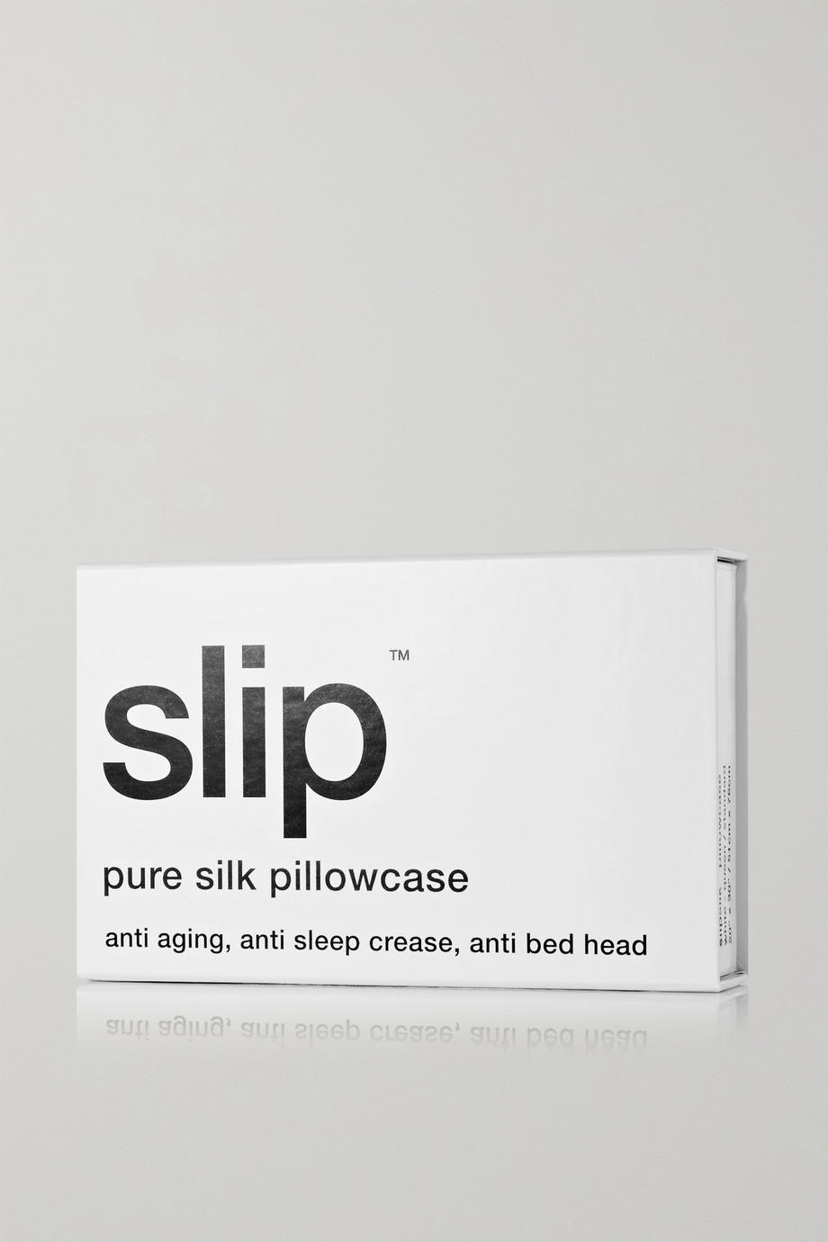 Slip Embroidered silk queen pillowcase