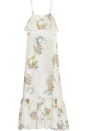 Hambledon floral-print silk-georgette maxi dress