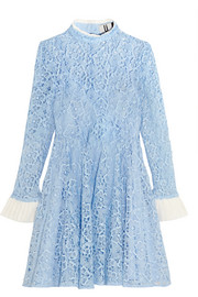 Taplow guipure lace mini dress